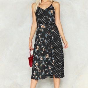 Dot Thing Floral Dress